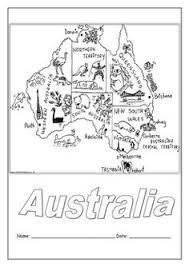 australia coloring worksheets australia
