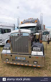 kenworth truck bumpers kenworth truck at the locomotion day in francueil france stock