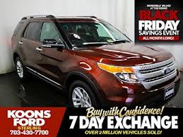 ford explorer used ford explorer for sale with photos carfax