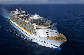 largest cruise ship in the world world u0027s 10 biggest cruise ships monsters of the sea