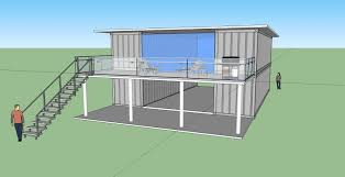 architecture sea container house design alongside millennium