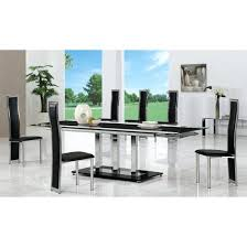 Dining Table Black Glass Glass Dining Table Seats 8 U2013 Wallmounted Co