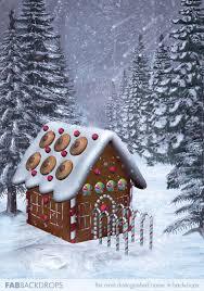 christmas backdrops vinyl christmas gingerbread house photography backdrop