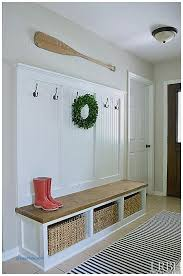 Entryway Organizer Ideas Storage Benches And Nightstands New How To Build A Entryway Bench