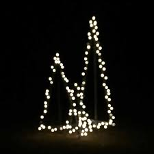 lighted christmas tree diy modern style lighted outdoor christmas trees
