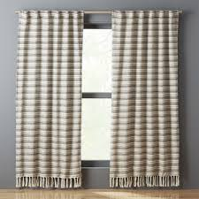 Wool Drapes Colorful Modern Curtains And Drapes Cb2