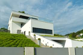 Slope House 32 Modern Home Designs Photo Gallery Exhibiting Design Talent