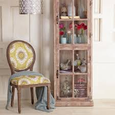 curio cabinet small spaces decorating and spaces