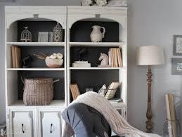 painted bookcases seeking lavendar lane