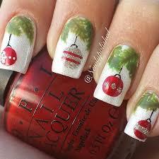 30 most cute christmas nail art designs christmas celebrations