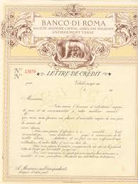 the circular letter of credit