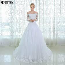 custom made wedding dresses bepeithy new design sleeve lace wedding dresses custom
