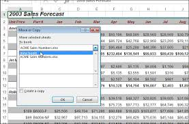 how to select sheets how to copy or move a worksheet into another workbook in excel