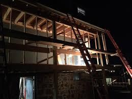 house porch at night just a little porch remodel u0027 he said u0027it u0027ll be fun u0027 he said
