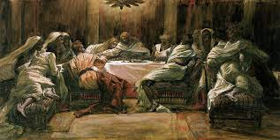 the last supper painting the last supper by tissot