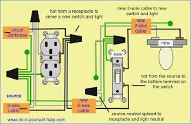 wiring diagram outlet to switch to light beamteam co