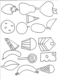 coloring pages the very hungry caterpillar coloring pages