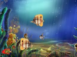 aquarium halloween animated aquarium wallpaper animated aquarium fullscreensavers com