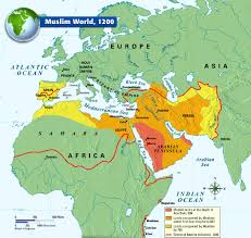 How Did The Treaty Change The World Map by The Muslim World 1200 History Pinterest Muslim History And