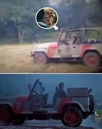 jurassic world jeep see jurassic world star ty simpkins drive original jurassic park