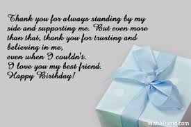 wedding wishes letter to friend thank you for always standing by best friend birthday wishes