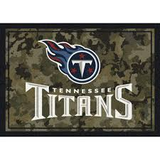 tennessee titans nfl camo rug free shipping