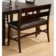metropolitan 6 piece dining set with bench black walmart com