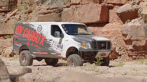 nissan vanette modified nissan u0027s diesel off road cargo van is the perfect rig for outdoor
