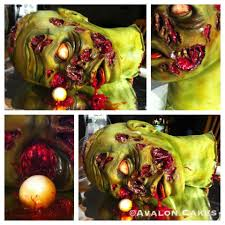 10 horrific scary and disgusting halloween cakes