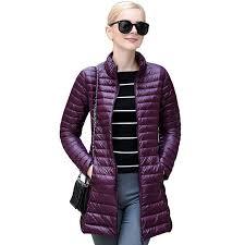 plus size light jacket 2017 spring 90 duck down weightless coats slim plus size 4xl