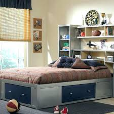 queen storage bed bookcase headboard beds with shelf headboards
