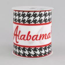 alabama ribbon 4 alabama football helmet ribbon crimson houndstooth 10