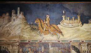 guidoriccio da fogliano fresque par simone martini 1328
