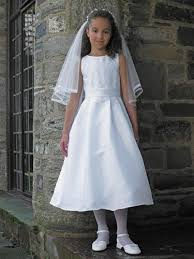 simple communion dresses 2012 simple white new style charming a line tea length