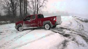 Ford Trucks Mudding Lifted - 2013 chevy silverado winter drifting sno mudding youtube