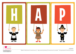 free thanksgiving printables for printable banner