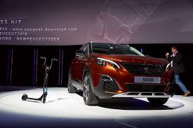 peugeot executive car latest reveal of the peugeot 3008 refreshing change
