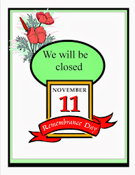 sylvan lake library remembrance day