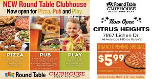 round table pizza golden valley opening citrus heights lichen dr round table clubhouse round