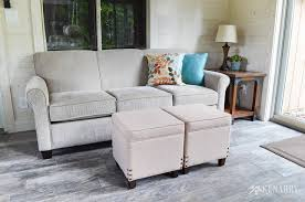 Sunroom Sofa Cottage Sunroom Reveal Shiplap Walls And Decor