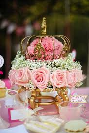 pink princess tea party styled shoot dining room table wedding