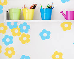 vinyl wall stickers custom promotion shop for promotional pcs set flower wall decals custom color vinyl stickers for kids room princess girl bedroom art mural wallpaper