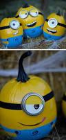 minion pumpkin decorations