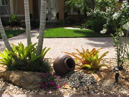 Tropical Landscape Ideas by Front Yard Landscaping With Rocks Landscape Ideas For Front Yard