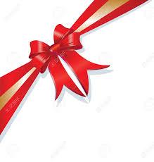 christmas gift bow vector christmas gift bow and ribbon royalty free cliparts
