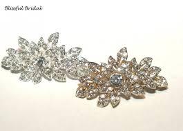 rhinestone hair wedding hair clip hair accessories gold hair accessories
