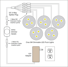 88light dimmable led puck light wiring diagrams