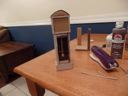 How To Make Furniture by How To Make A Doll Grandfather Clock Miniature From Trash Diy