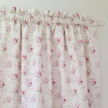 Cream Wooden Curtain Poles French Florals Fabric Collection Peony And Sage Curtains