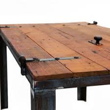 barn door dining table old barn door desk table reclaimed materials custom made by